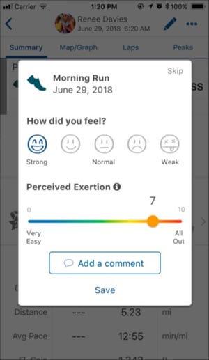 El componente mental del entrenamiento. Evaluación de la sensación de fatiga y la percepción del esfuerzo del entrenamiento
